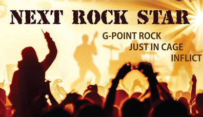 G- Point Rock vs Just in Cage vs Inflict - Next Rock Star