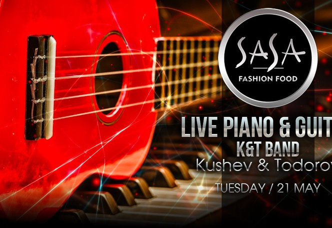 Live Piano & Guitar Night by Кушев & Тодоров