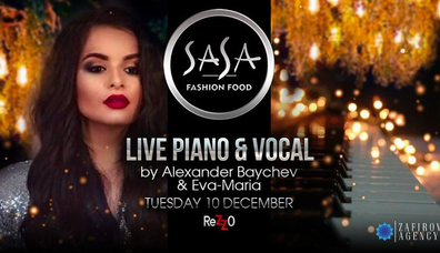 Live Vocal & Piano By Alexander Baychev & Eva-Maria