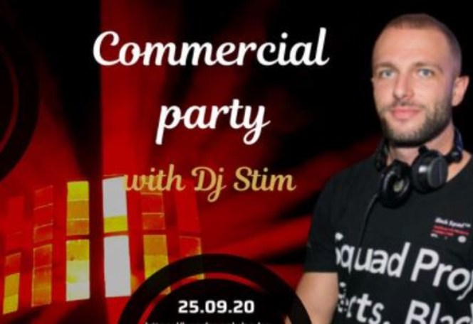 Commercial party with Dj Stim